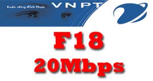 Gói cước cáp quang VNPT 20Mbps