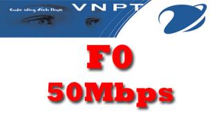 Gói cước cáp quang VNPT F0 tốc độ 50Mb