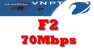 Gói cước cáp quang VNPT F2 tốc độ 70Mb