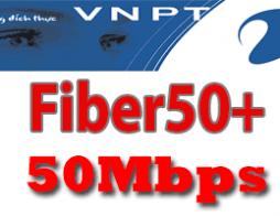 Gói cước cáp quang VNPT Fiber50Plus tốc độ 50Mb | KH Doanh Nghiệp 2019