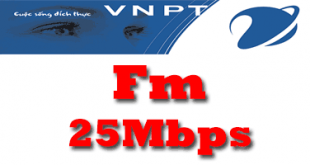 Gói cước cáp quang VNPT 25Mb