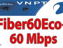Gói cước cáp quang VNPT Fiber60EcoPlus tốc độ 60Mb|KH Doanh Nghiệp 2019