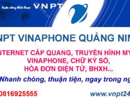 Tổng Đài VNPT Quảng Ninh, Lắp Mạng VNPT Quảng Ninh