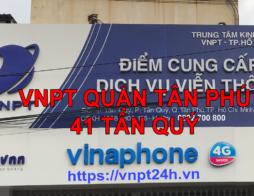 Lắp Đặt Wifi VNPT Quận Tân Phú | Internet Cáp Quang VNPT Tân Phú