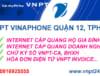 Lắp Mạng Internet VNPT Hiệp Thành, Quận 12, TPHCM