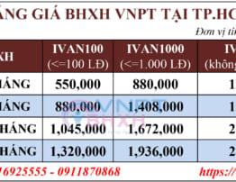 Bảng Giá BHXH VNPT Quận Bình Thạnh, TP.HCM