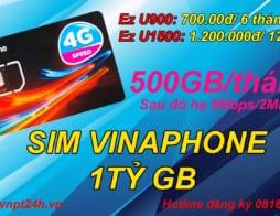 Sim 4G Vinaphone 1 tỷ GB tại TPHCM – Vinaphone TPHCM