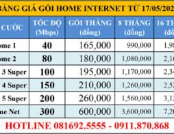 Khuyến mãi lắp internet VNPT Hóc Môn, Củ Chi – TPHCM